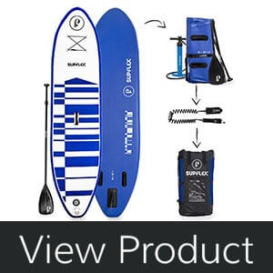 Supflex 10' Inflatable Stand Up Paddleboard