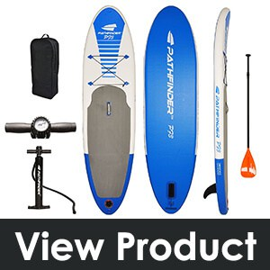 PathFinder Inflatable SUP Stand Up Paddleboard 9' 9""