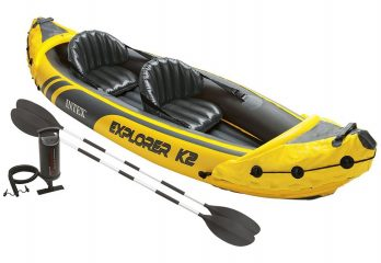Intex Explorer K2 Kayak whats included