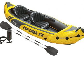 Intex Explorer K2 Kayak whats included