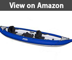 Aquaglide Chinook XP Tandem XL 3 Person Inflatable Kayak