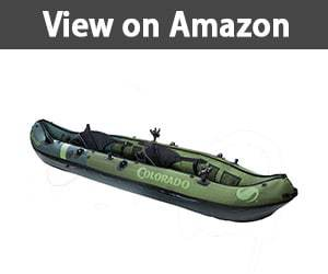Sevylor Coleman Colorado 2 Person Fishing kayak