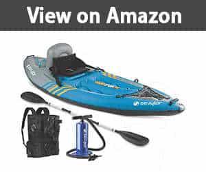Sevylor Quikpak K1 1 Person Kayak inflatable kayak