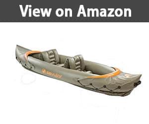Sevylor Tahiti 3 Person Fishing inflatable kayak