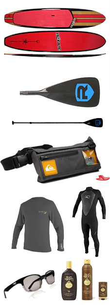 paddleboard equipment