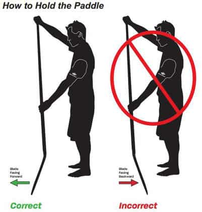 How to Hold SUP Paddle
