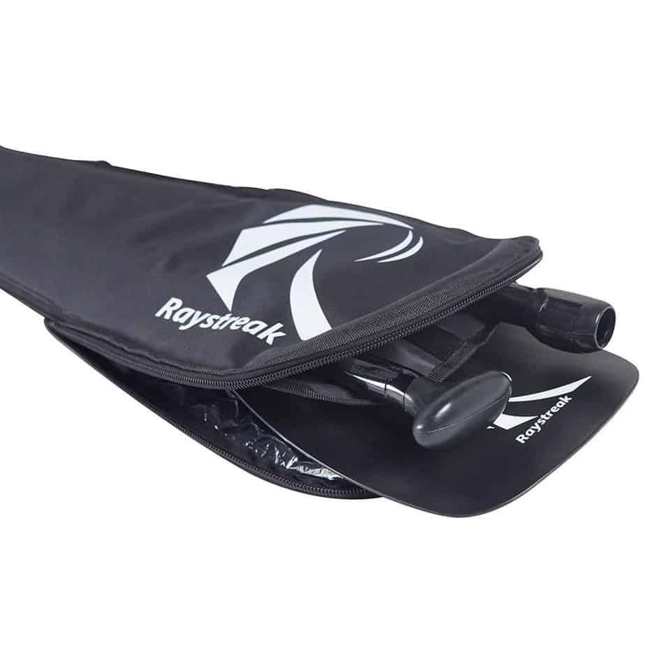 RAYSTREAK 3-piece SUP paddle inflatable paddleboard paddle with Fiberglass Shaft