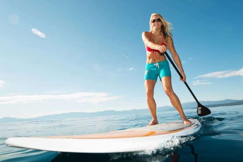 Paddling is a Mental and Full-Body Workout