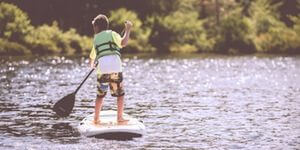 The Start of Modern Standup Paddling