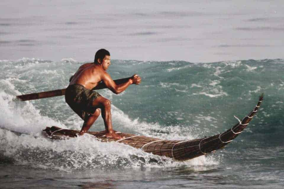 history of paddleboards