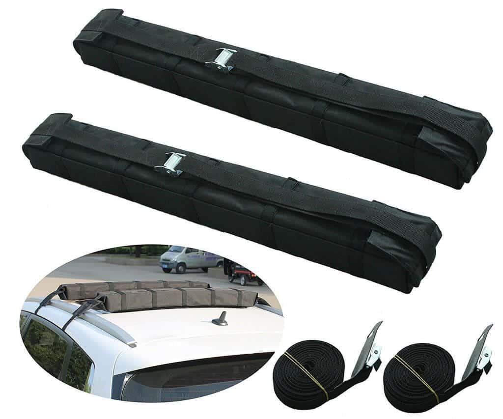 Motor Tech Universal Car Soft Roof Rack