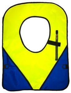 101Snorkel Yellow/Blue Deluxe Adult Snorkeling Vest