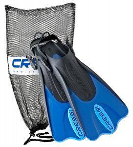 Cressi Palau Short Snorkeling Swim Fins