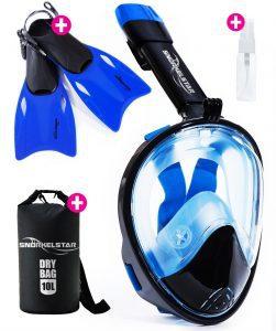 Snorkelstar Full Face Snorkeling Set