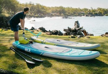 ISLE Explorer 11′ Paddle Board Package Review