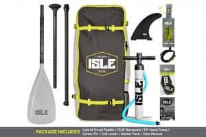 isle explorer whats included in package