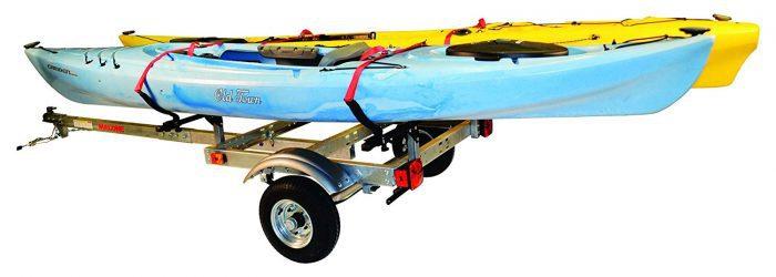 2 trailer kayak