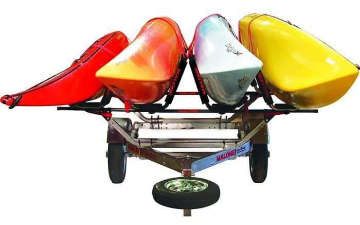 4 kayak trailer