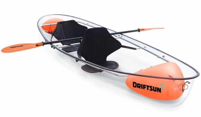 Driftsun 2 person Transparent kayak