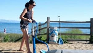 how to inflate your paddle board