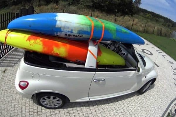 how to transport a kayak