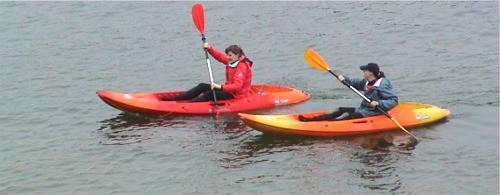 site on kayak