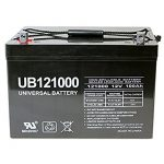 Universal UB121000-45978 12v 100AH Deep Cycle AGM Battery