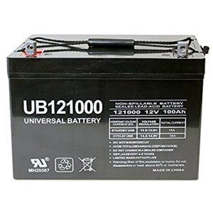 Universal UB121000 45978 12v 100AH Deep Cycle AGM Battery