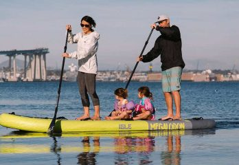 How To Paddle Board With Kids On Board?