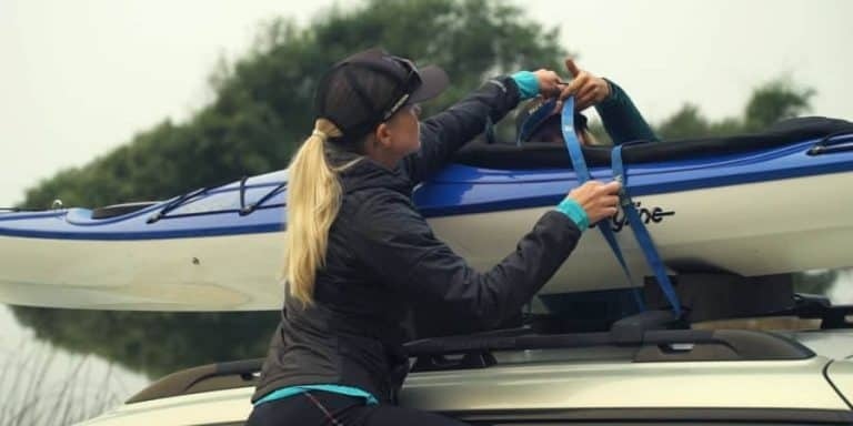 How To Properly Strap Two Kayaks To A Car Roof Rack