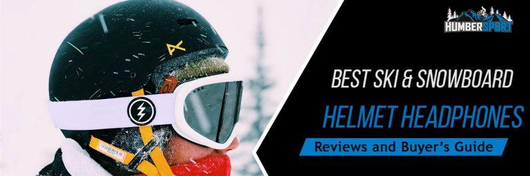 Best Ski and Snowboard Helmet Headphones Reviewed In 2021
