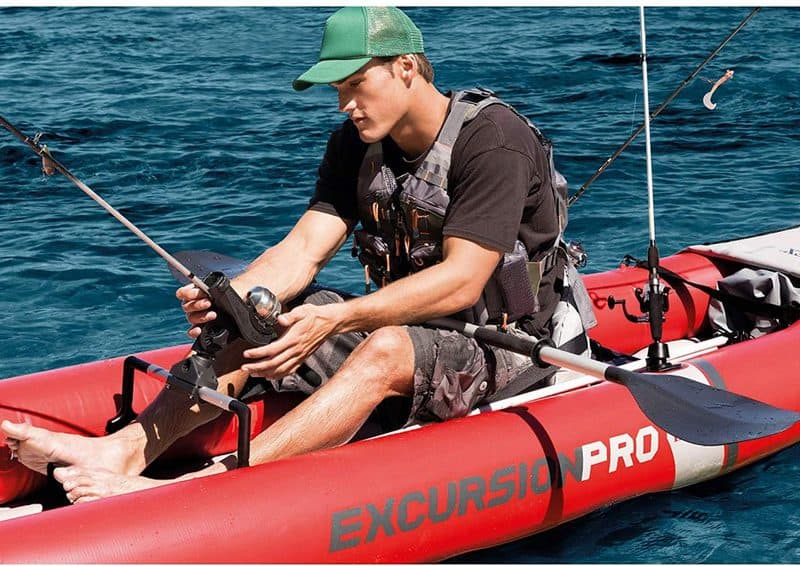 Intex Excursion Pro Kayak fishing