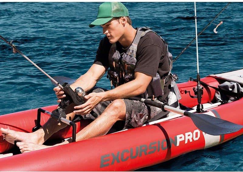 Intex Excursion Pro Kayak fishing