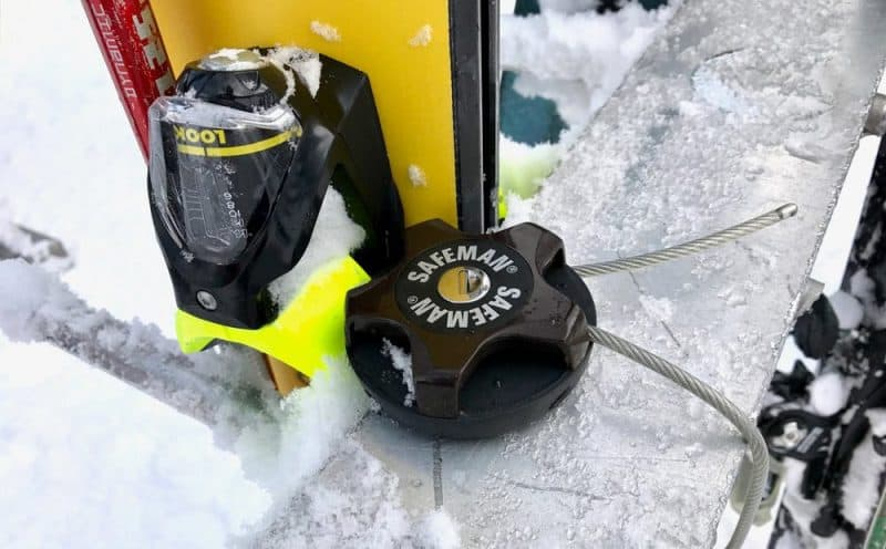 Best Ski Snowboard Lock