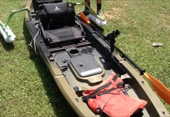 diy kayak outrigger